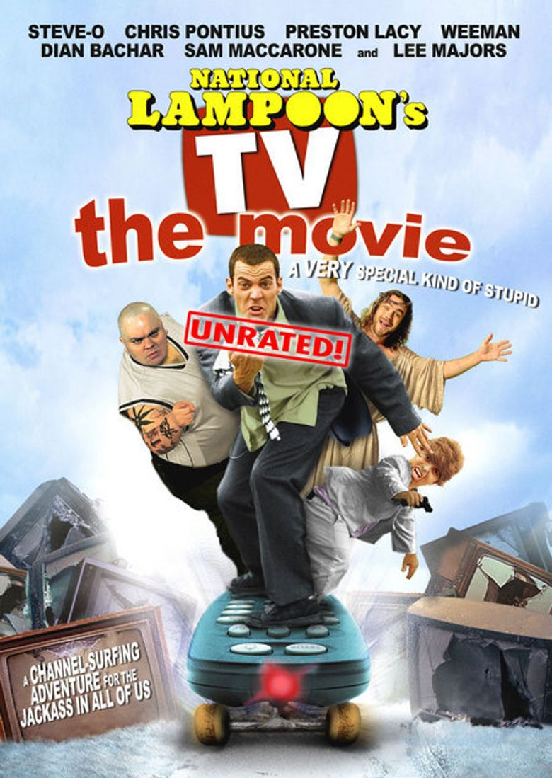 National Lampoon's TV: The Movie Poster