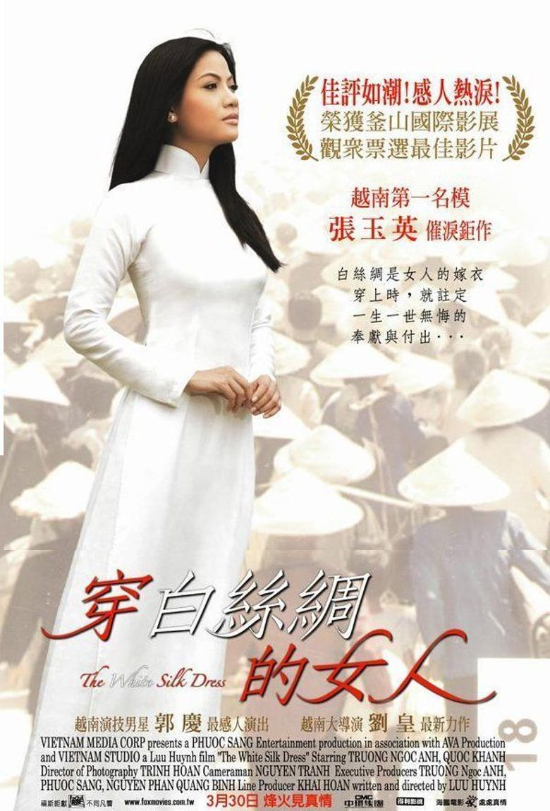 The White Silk Dress Poster
