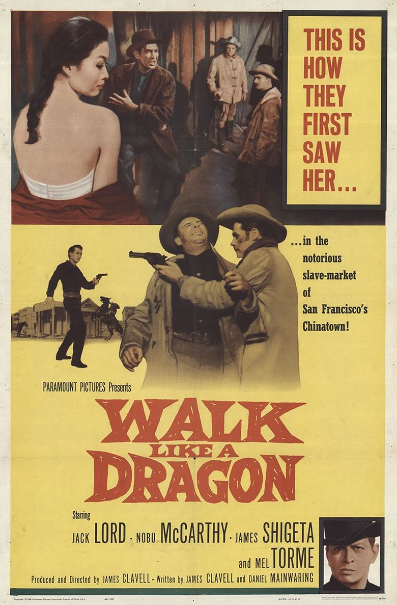 Walk Like a Dragon Poster