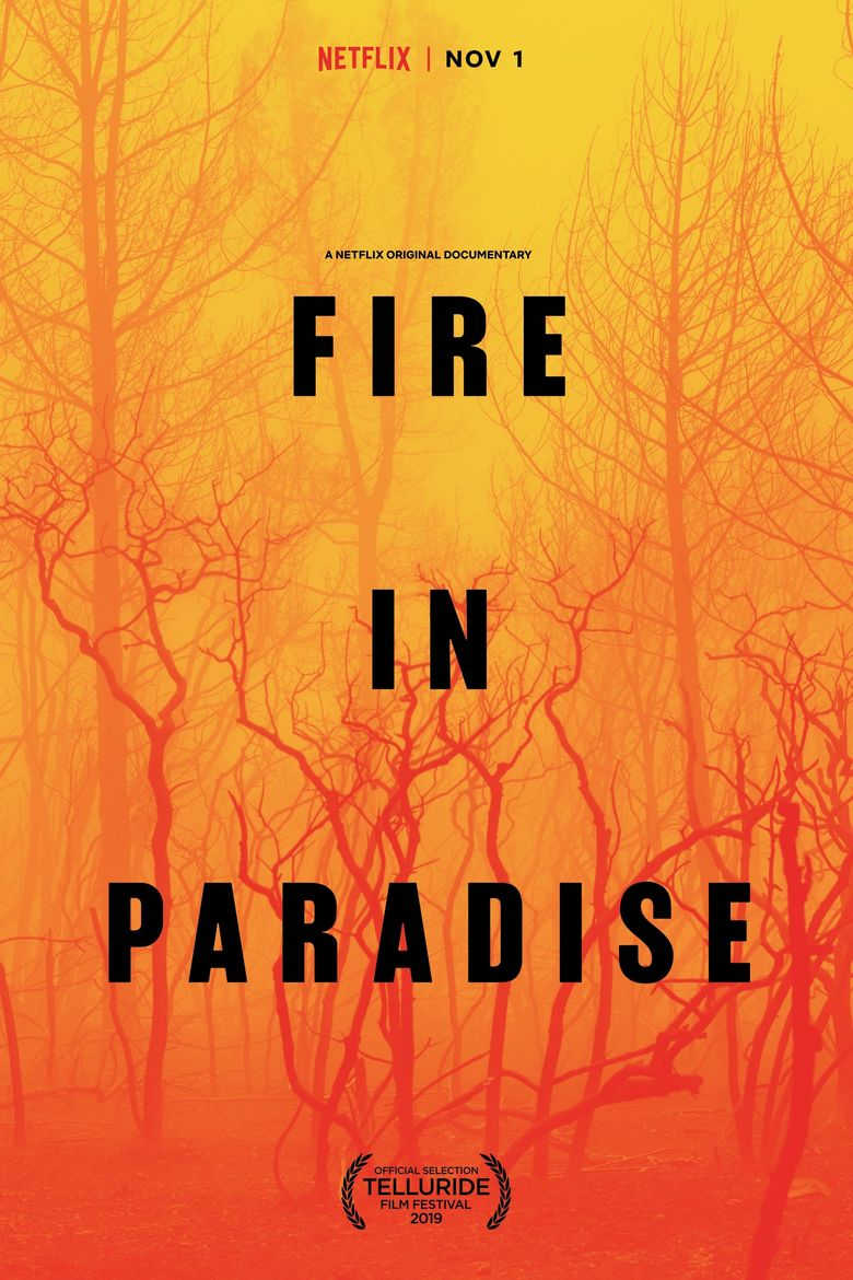 Fire in Paradise Poster