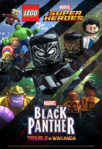 LEGO Marvel Super Heroes: Black Panther - Trouble in Wakanda Poster
