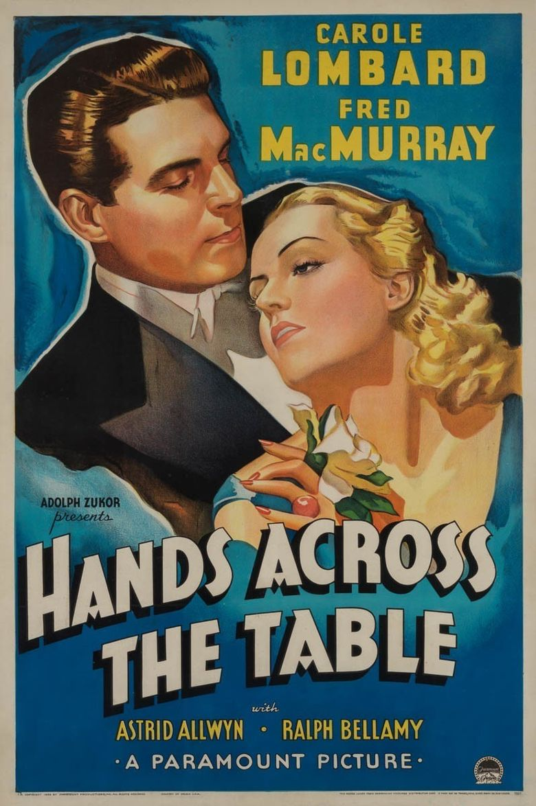 Hands Across the Table Poster