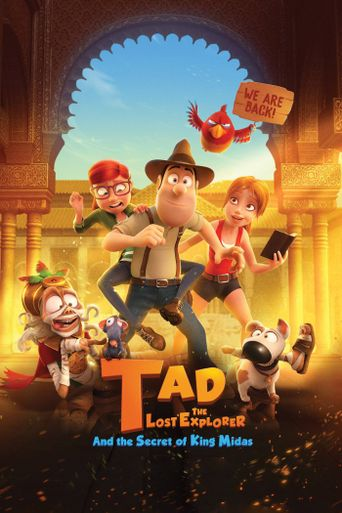 Tad the Lost Explorer and the Secret of King Midas Poster