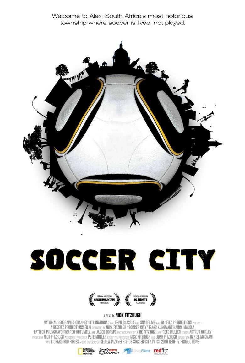 Soccer City Poster