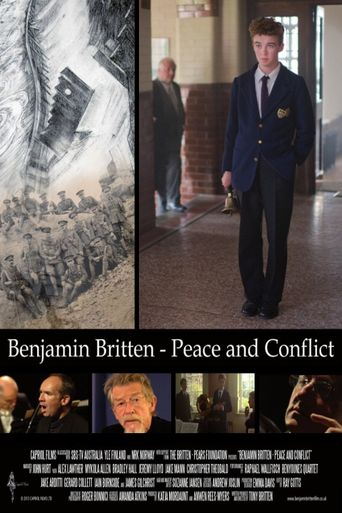 Benjamin Britten: Peace and Conflict Poster