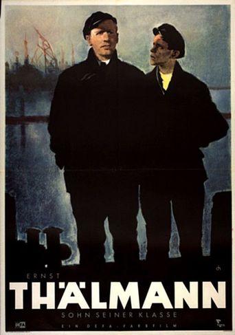 Ernst Thälmann - Sohn seiner Klasse Poster