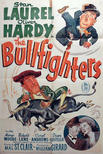 The Bullfighters Poster