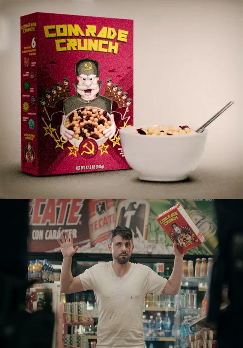 Comrade Crunch Poster