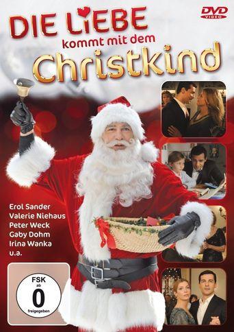 Die Liebe kommt mit dem Christkind Poster