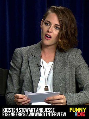 Kristen Stewart and Jesse Eisenberg's Awkward Interview Poster