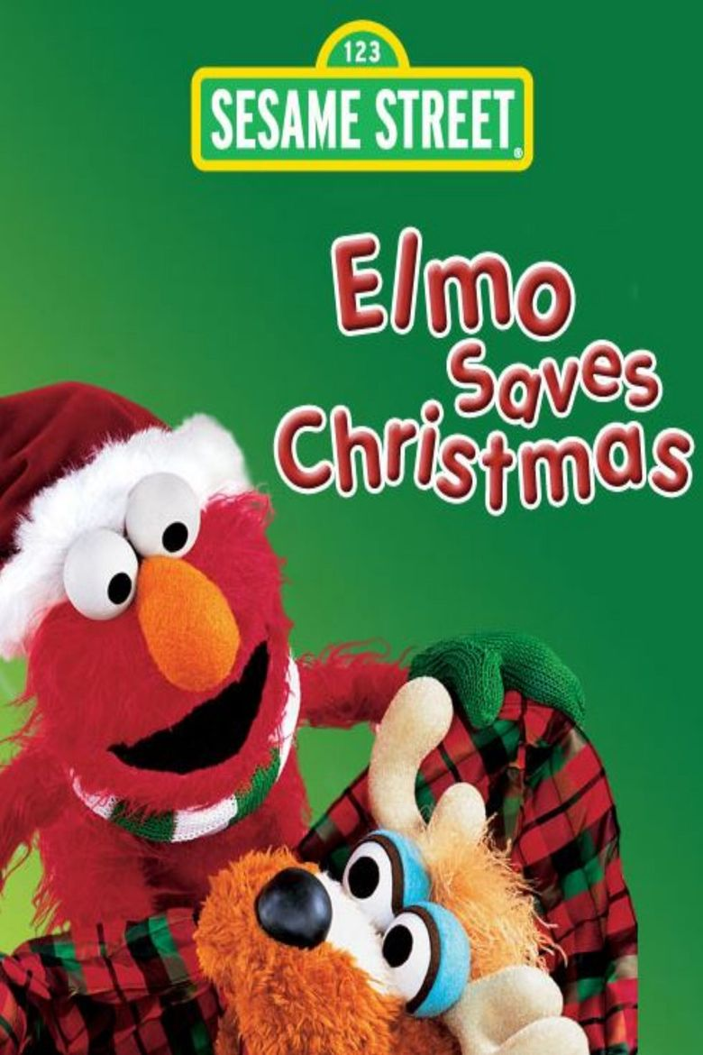 Sesame Street: Elmo Saves Christmas Poster
