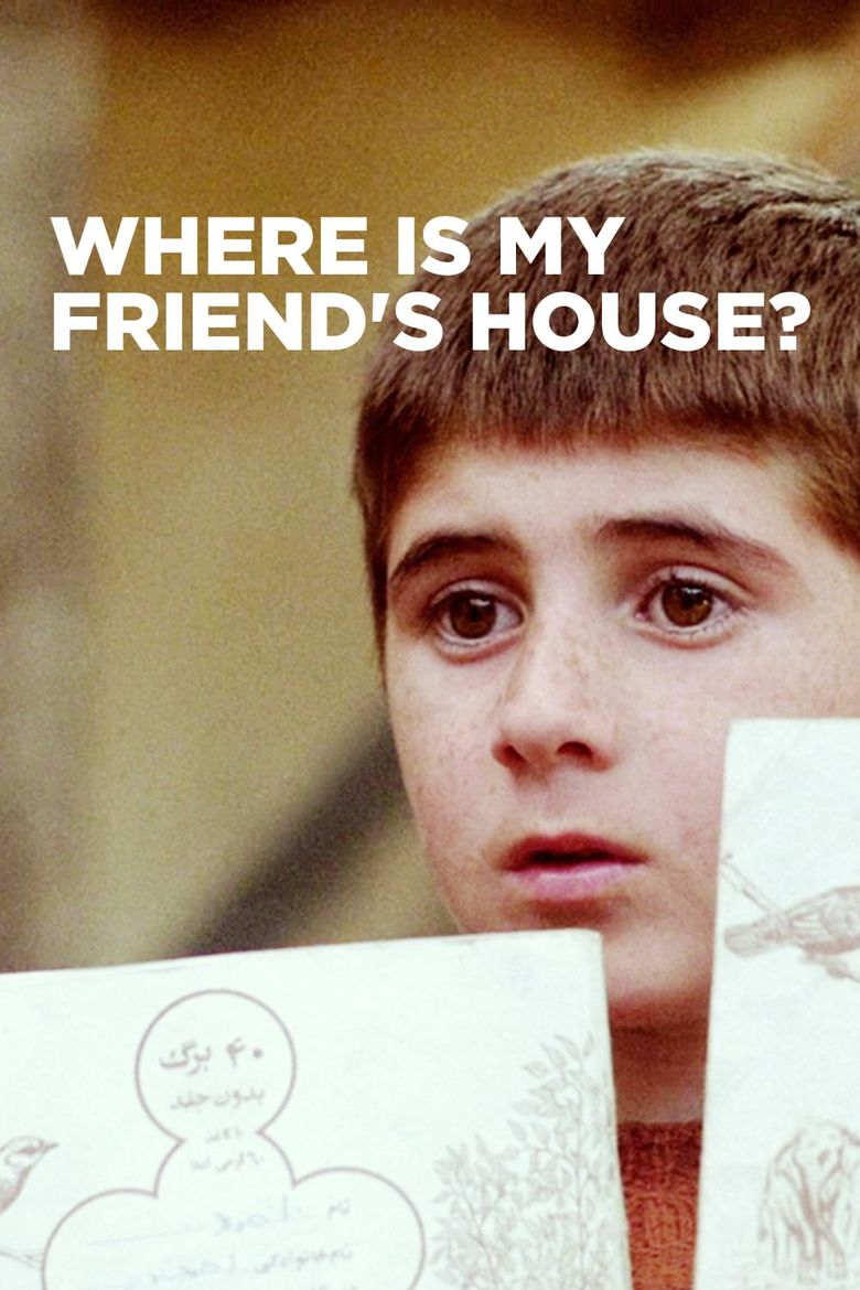 Where Is My Friend's House? Poster