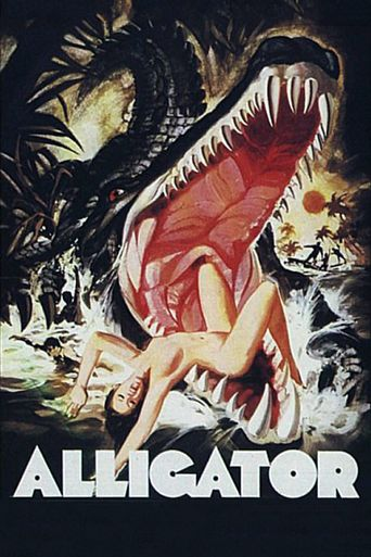 The Great Alligator Poster
