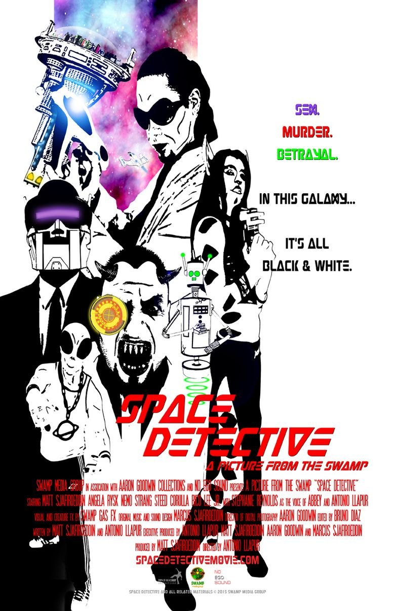 Space Detective Poster