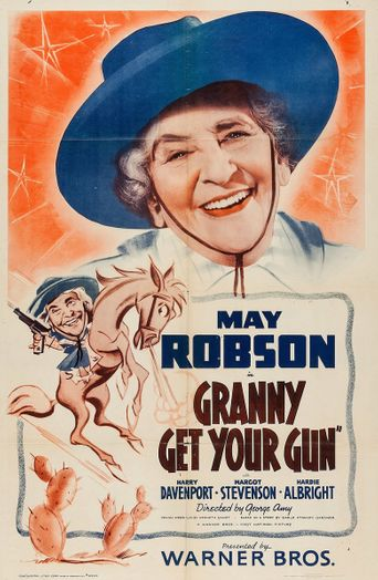 Granny Get Your Gun Poster