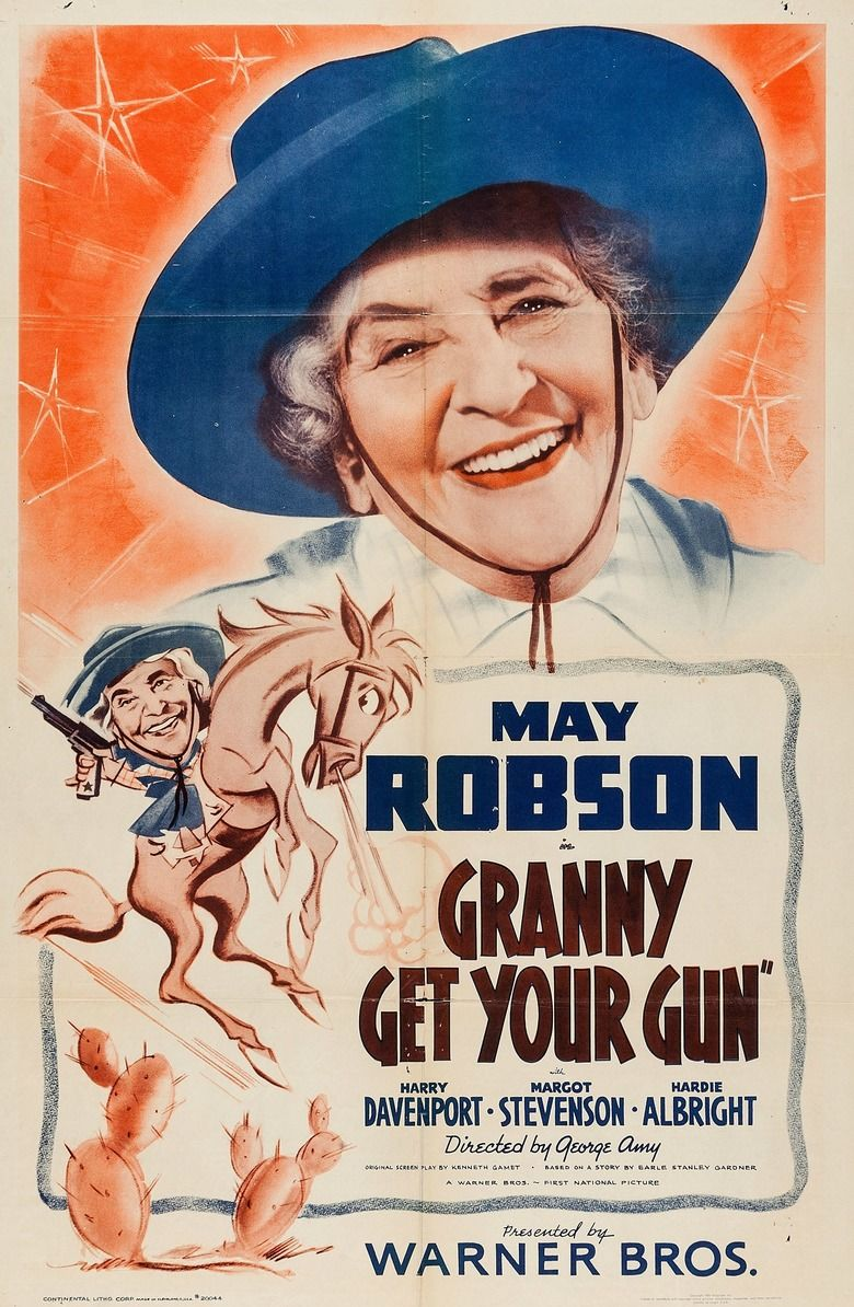 Granny Get Your Gun Poster