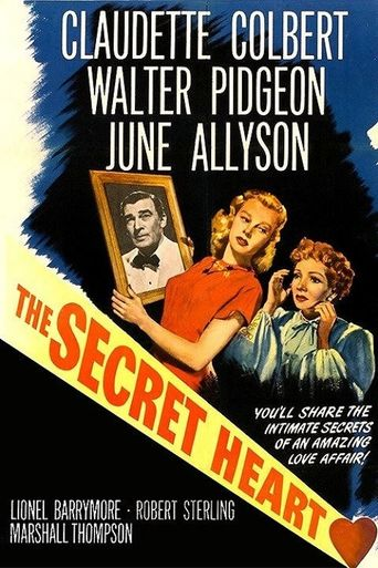 The Secret Heart Poster