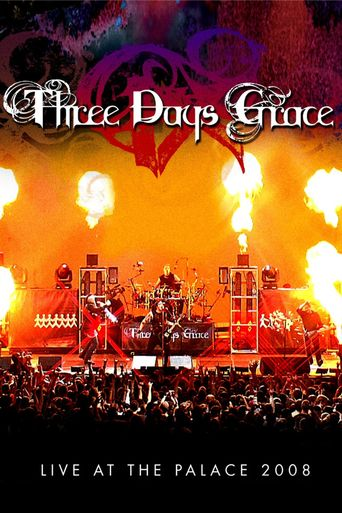 Three Days Grace: Live at the Palace Poster