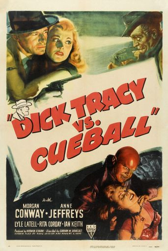 Dick Tracy vs. Cueball Poster