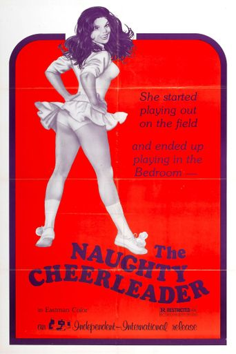 The Naughty Cheerleader Poster