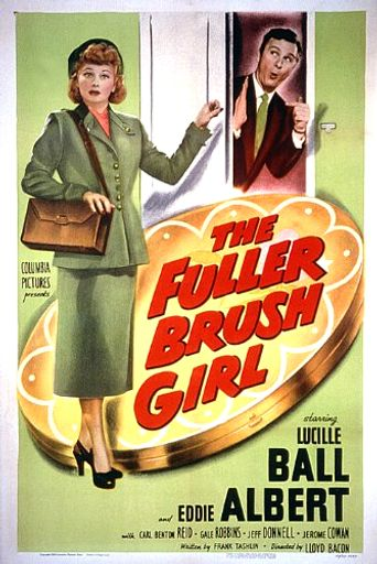 The Fuller Brush Girl Poster