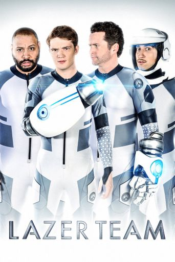 Lazer Team Poster