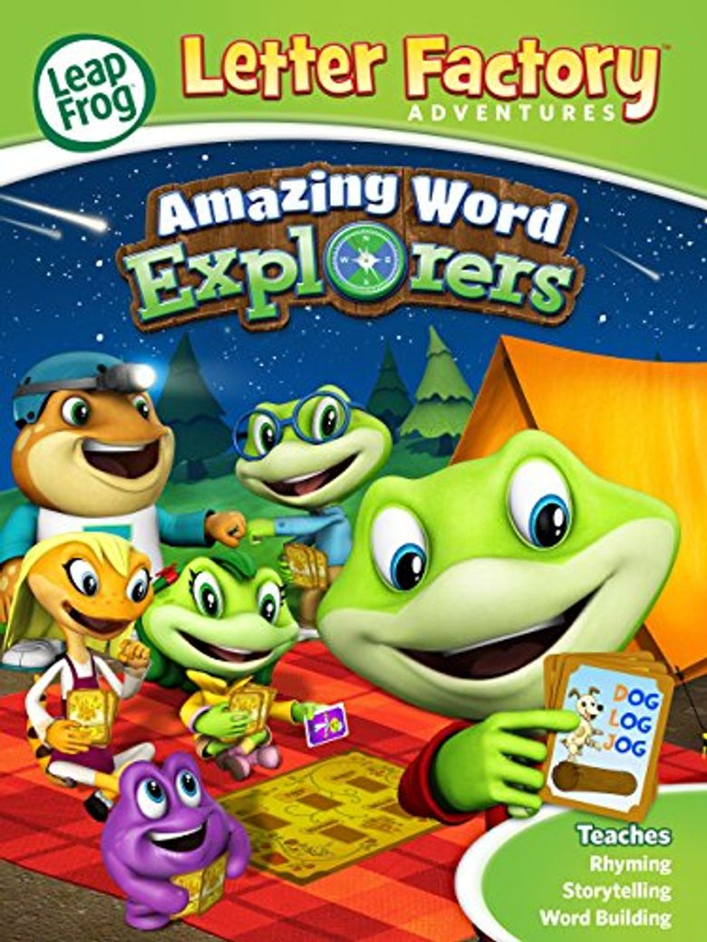 LeapFrog Letter Factory Adventures: Amazing Word Explorers Poster