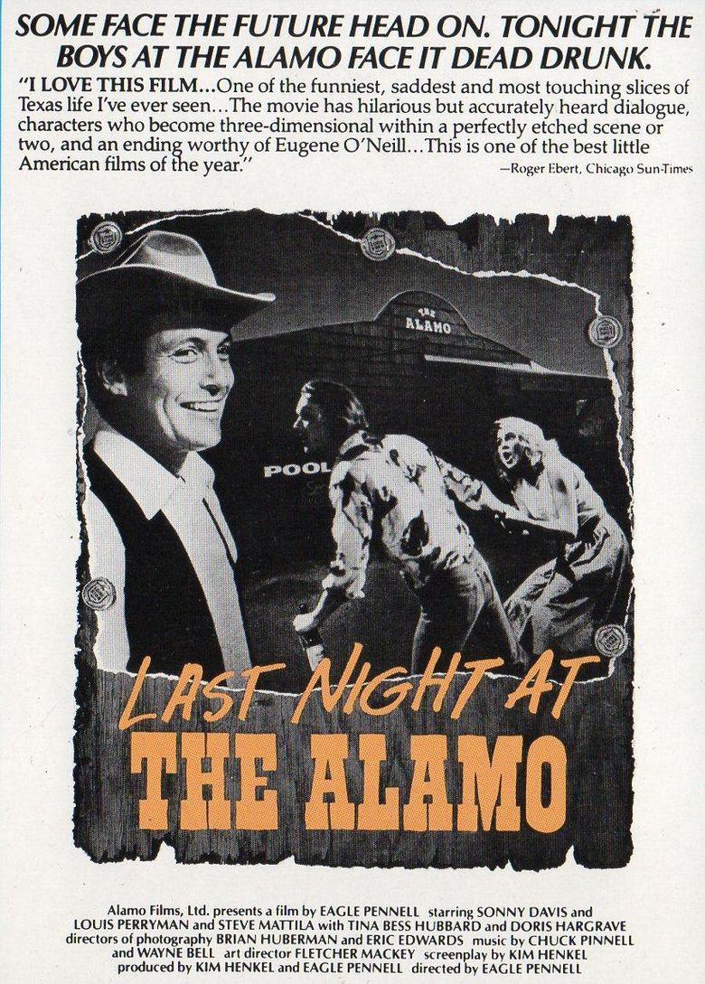 Last Night at the Alamo Poster
