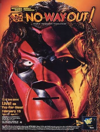 WWE No Way Out of Texas: In Your House Poster