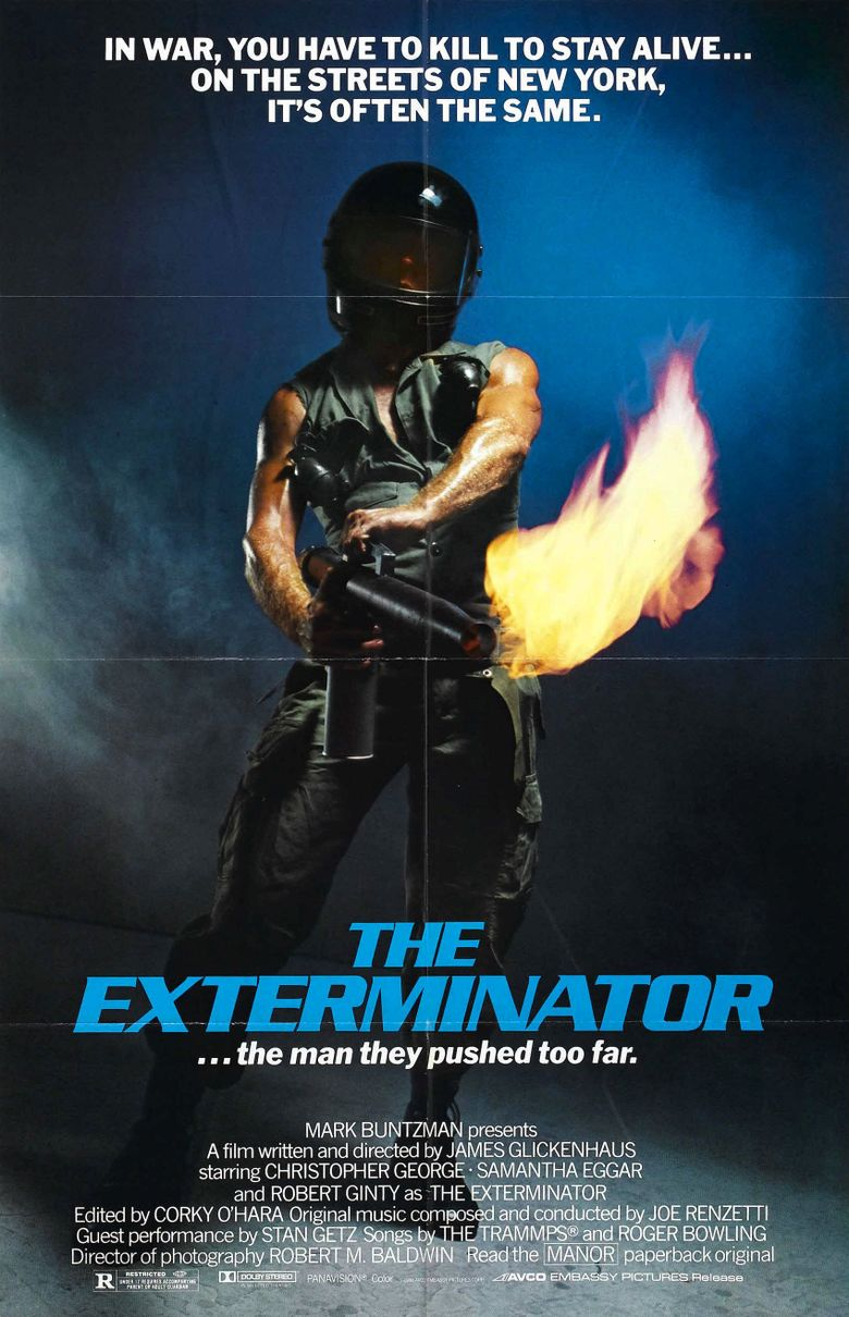 The Exterminator Poster