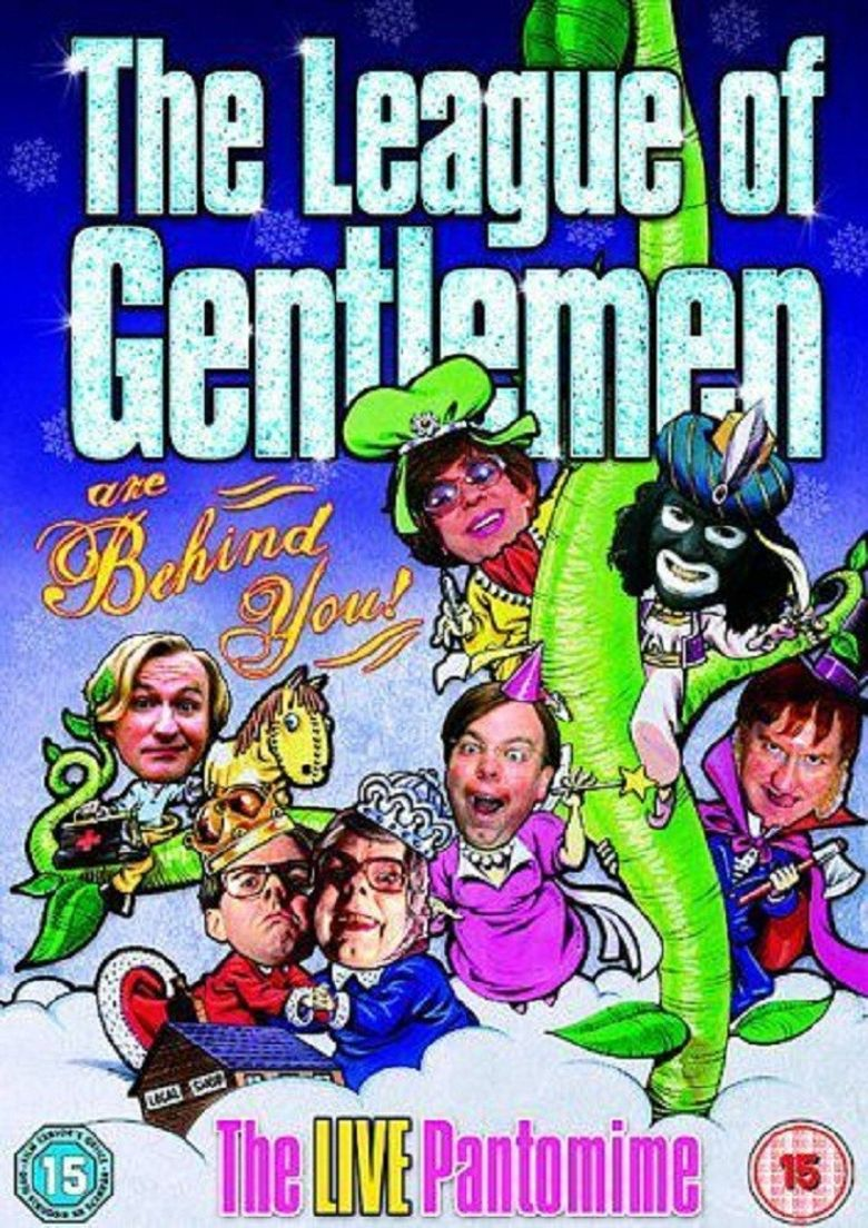 The League of Gentlemen Are Behind You Poster