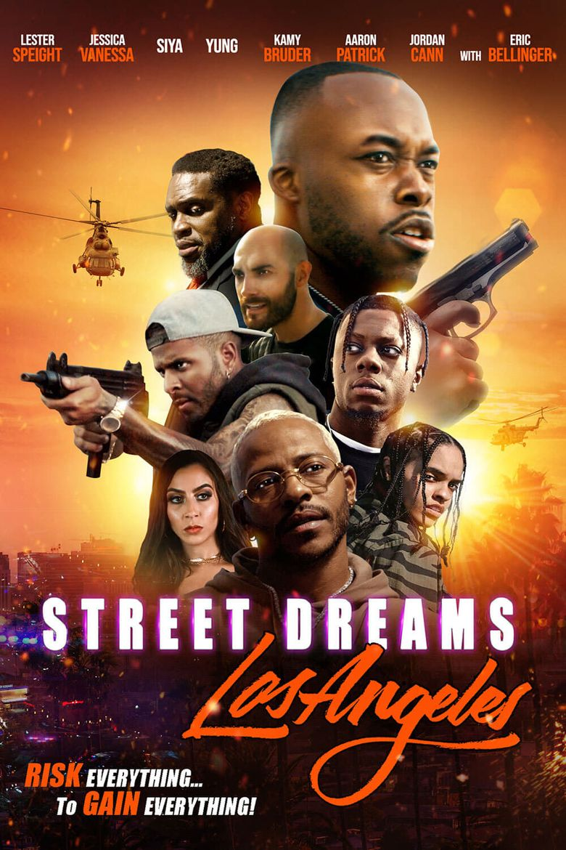 Street Dreams Los Angeles Poster