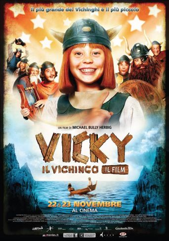 Vicky the Viking Poster