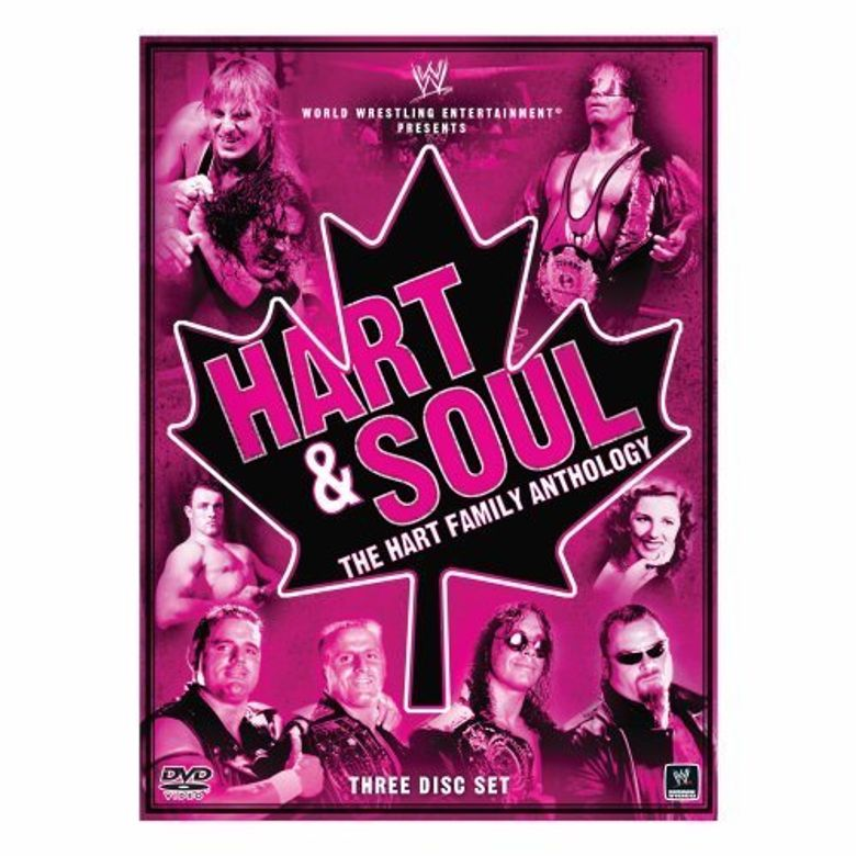 WWE: Hart & Soul - The Hart Family Anthology Poster