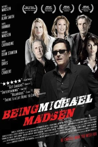 Being Michael Madsen Poster