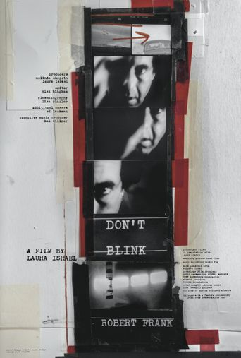 Don't Blink: Robert Frank Poster
