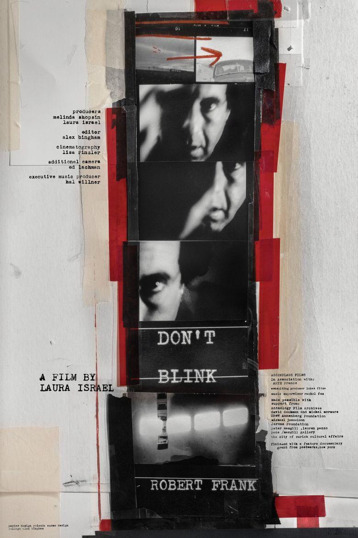 Don't Blink: Robert Frank Poster