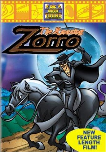 The Amazing Zorro Poster