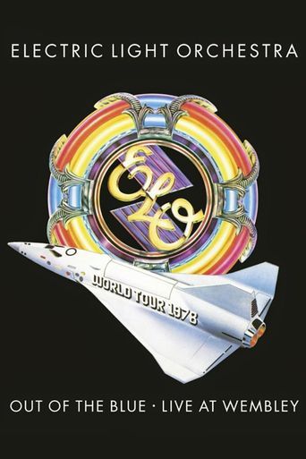 Electric Light Orchestra - Out of the Blue - Live at Wembley Poster