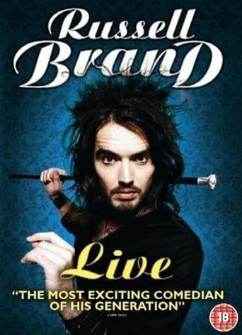 Russell Brand: Live Poster