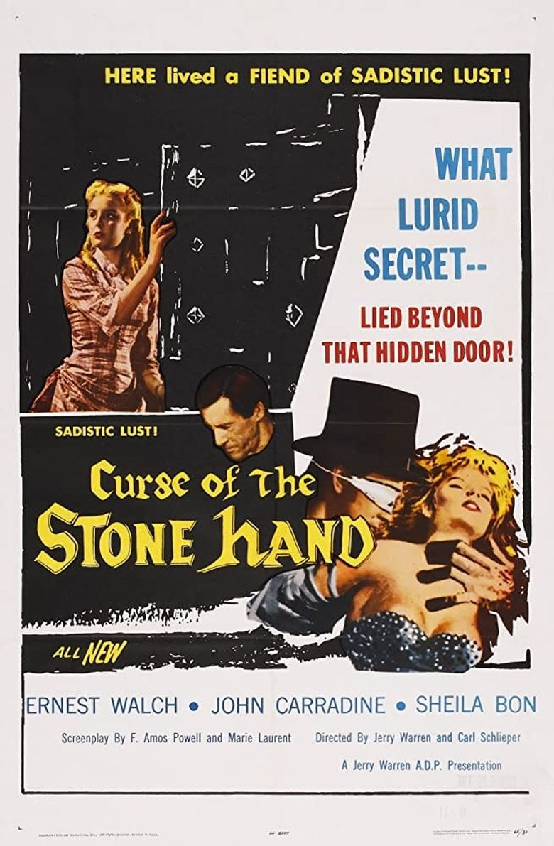 Curse of the Stone Hand Poster