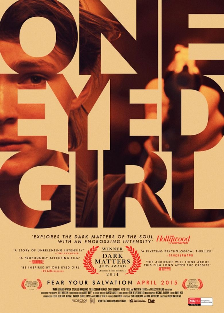 One Eyed Girl Poster