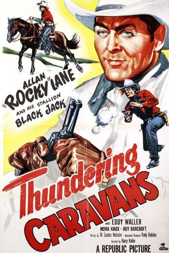 Thundering Caravans Poster