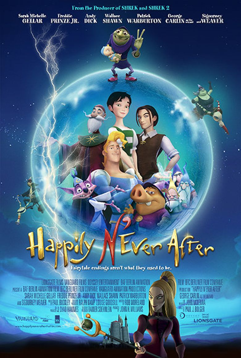 Happily N'Ever After Poster