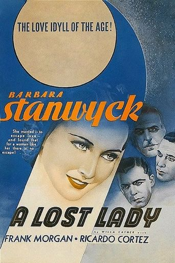 A Lost Lady Poster