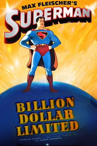 Superman: Billion Dollar Limited Poster