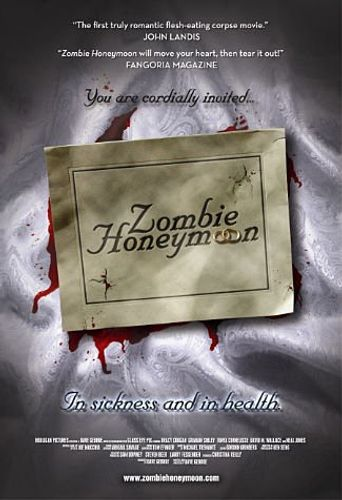Zombie Honeymoon Poster