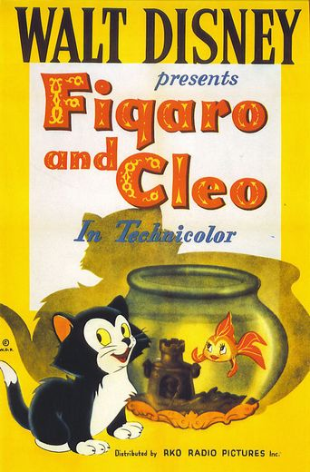 Figaro and Cleo Poster