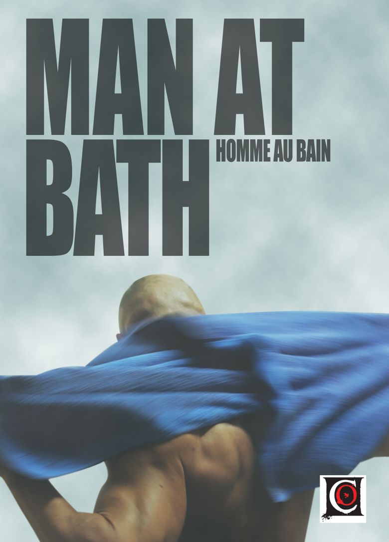 Man at Bath Poster