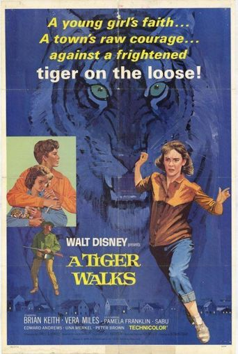 A Tiger Walks Poster